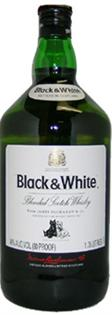 Black & White Scotch 80@ 1.00l